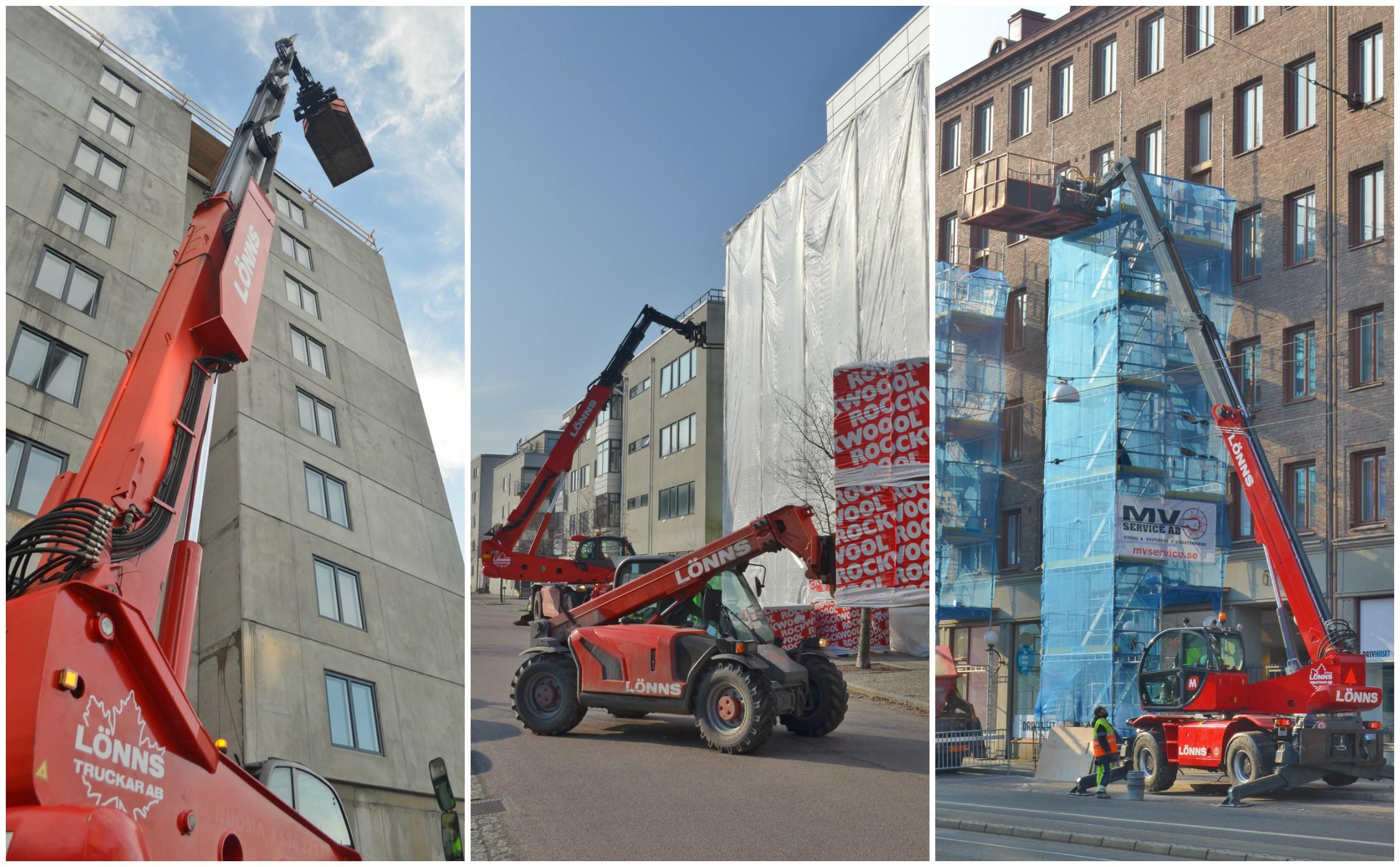 Lyfthjälp Göteborg — Lönns Truckar AB
